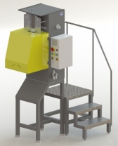 Máquina de Encher e Soldar Embalagem