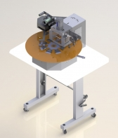 Máquina de Carimbar Rotativa para Taloneira Automática